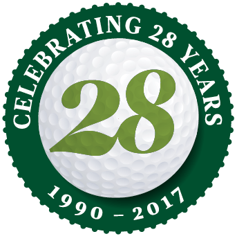 [logo] Celtic Golf, celebrating 28 years in business. 1990-2017