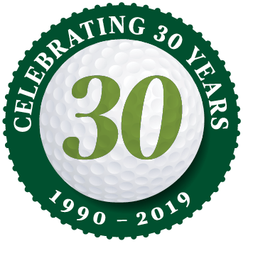 [logo] Celtic Golf, celebrating 29 years in business. 1990-2018