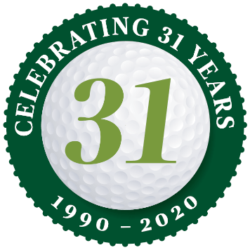 [logo] Celtic Golf, celebrating 31 years in business. 1990-2020