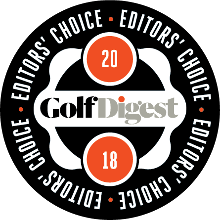 [logo] Golf Digest Editor's Choice Award 2018