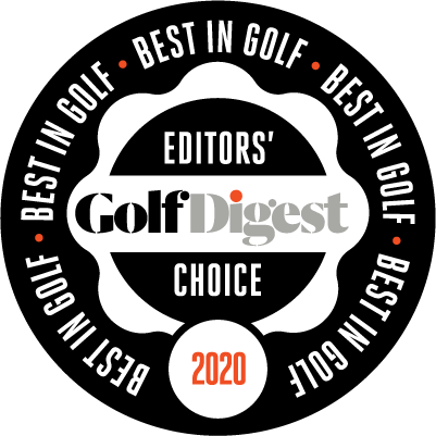 [logo] Golf Digest Editor's Choice Award 2020