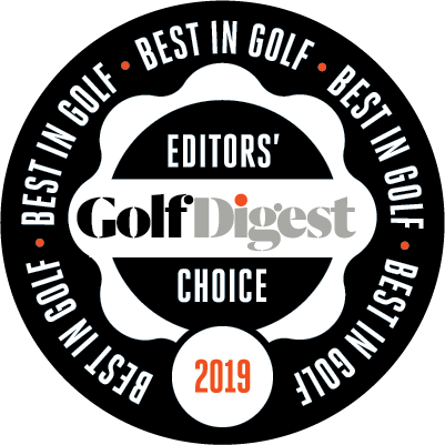Golf Digest Editors Choice Award 2019
