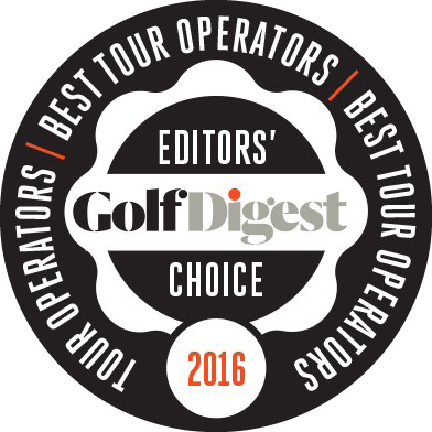 Celtic Golf receive a Golf Digest Editors' Choice Award – Best Tour Operator 2016.